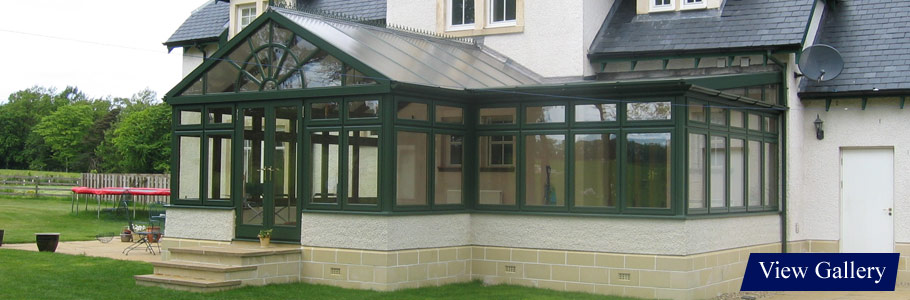 Bespoke Conservatories by Stevenswood. Covering all of Scotland inc. Edinburgh and Glasgow..